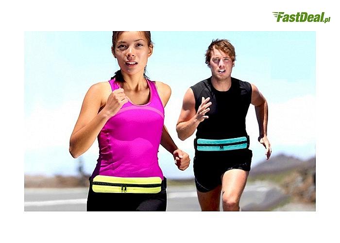 Funkcjonalny pasek do biegania, ułatwiający transport niezbędnych drobiazgów