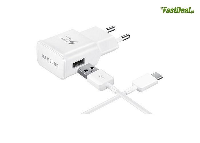 Oryginalna ładowarka sieciowa Samsung Fast Charge USB TYP-C