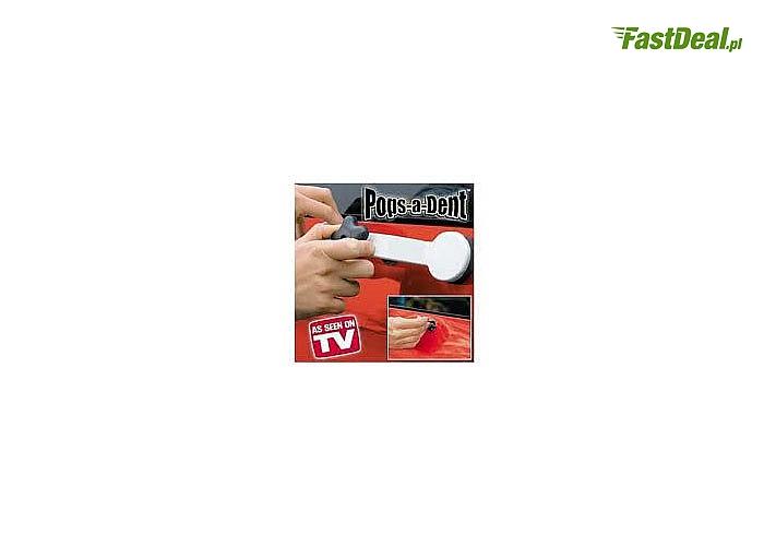 Zestaw Pops a Dent do samodzielnego usuwania wgnieceń blacharskich! Wysoka skuteczność i łatwość użycia!