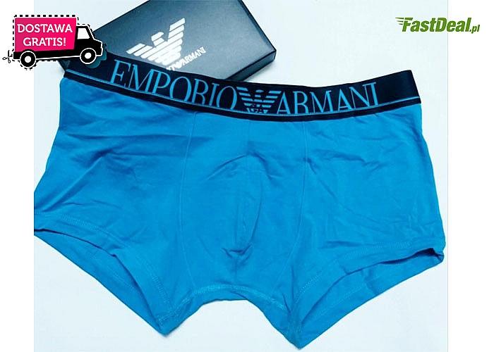 Bielizna najwyższej jakości! Bokserki od Emporio Armani w 5-paku!