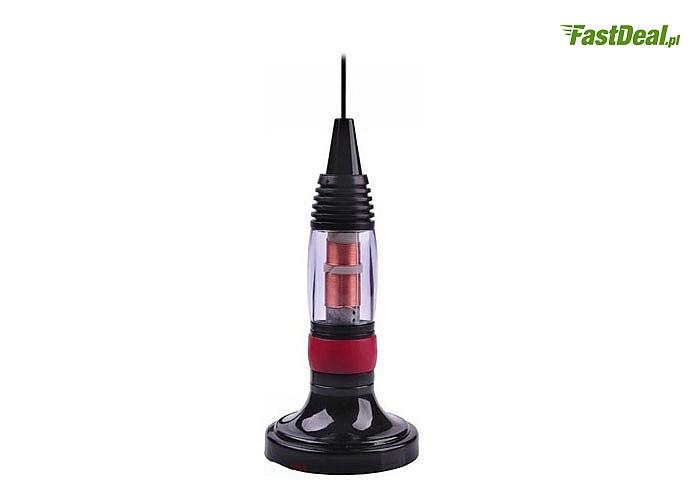 Antena do CB Radia ,dzięki magnetycznym mocowaniu jest prosta w montażu