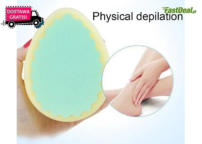 Depilacja gąbką gwarantuje gładką skórę w prosty i bezbolesny sposób