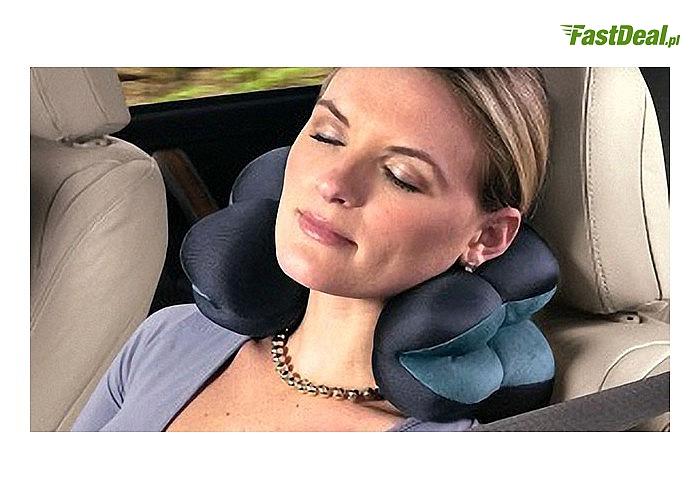 Zdrowy sen i wspaniały relaks w domu i podróży z poduszką Total PILLOW
