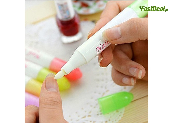 Koniec z problemami przy malowaniu paznokci! Korektor lakieru do usuwania błędów przy manicure.