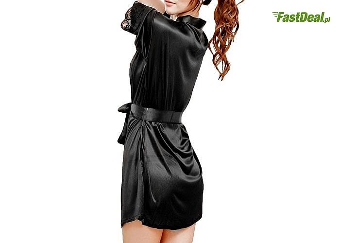 Szlafroczek satynowy obowiązkowy elementem garderoby eleganckiej kobiety i sprawdzi się w każdej sytuacji
