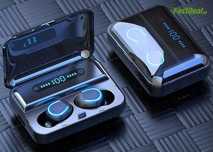 Słuchawki bezprzewodowe, douszne z funkcją Bluetooth! Doskonała jakość w przystępnej cenie.