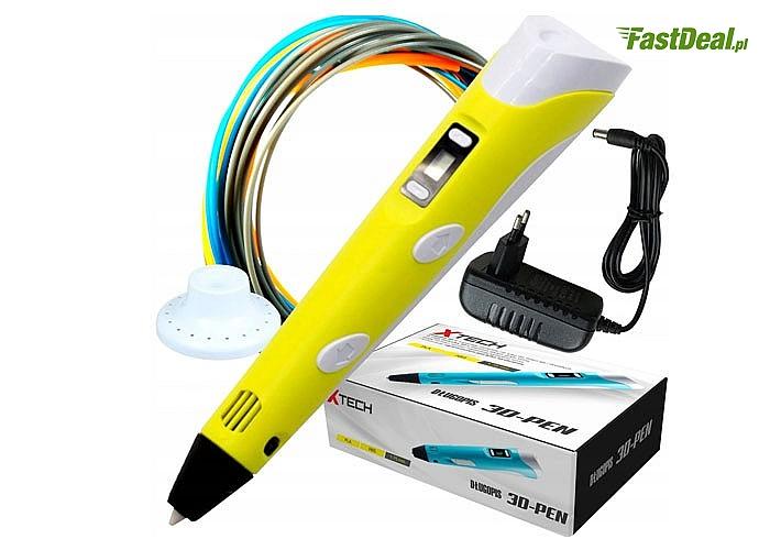 Długopis –drukarka 3D! Wspaniałe narzędzie dla dzieci i dorosłych!