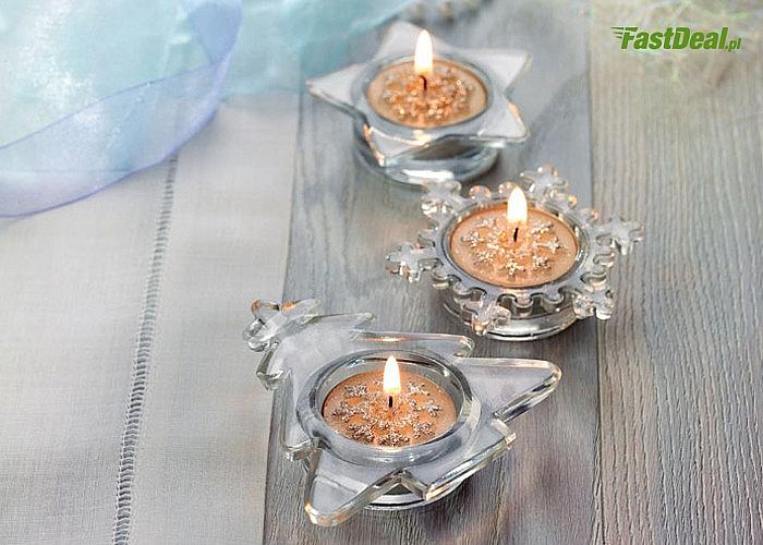 Komplet świątecznych świeczek! Dwa zestawy do wyboru! Idealny pomysł na prezent!