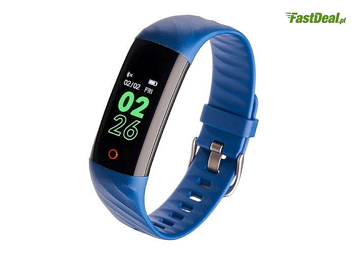 Smartband – opaska sportowa Garett Fit 14! Zbilansuj swój trening! Wodoodporność i niezawodność!