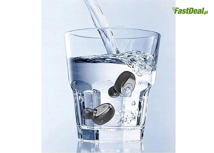 Słuchawki bezprzewodowe ich kompaktowy kształt i designerski wygląd sprawią, że zawsze będziesz mieć je przy sobie