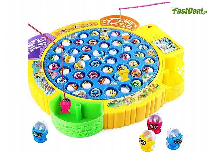 Gra zręcznościowa dla dzieci! Łowienie rybek, aż dla 4 osób!