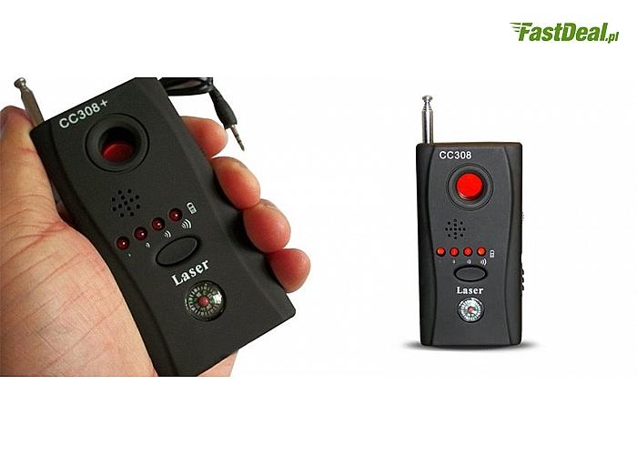 Laserowy wykrywacz podsłuchów i kamer (69 zł)