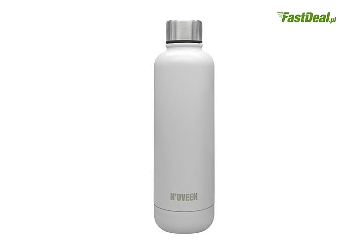 Butelka termiczna 500 ml TB413 Light Purple Mat idealnie nadaje się do transportu ciepłych jak i zimnych napojów