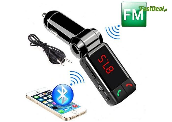 Transmiter bluetooth to kompaktowe urządzenie umożliwiające odtwarzanie muzyki pochodzącej z zewnętrznych nośników