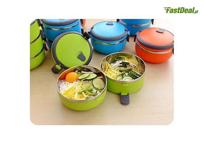 Termos obiadowy utrzyma pożądaną temperaturę każdego posiłku, aby móc cieszyć się jego smakiem i aromatem