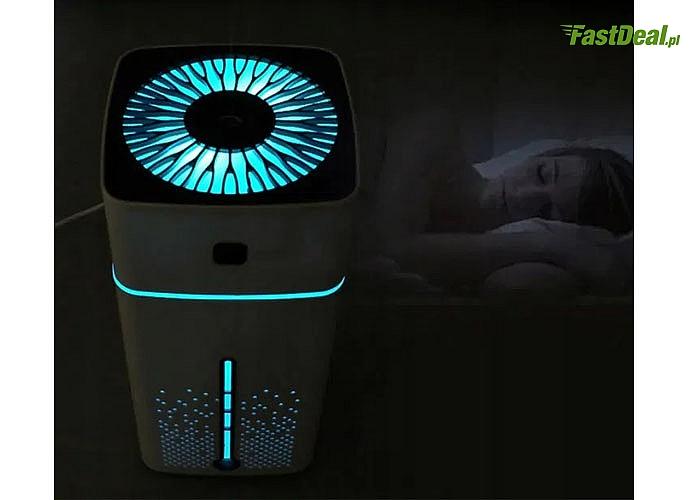 Ultradźwiękowy nawilżacz powietrza z dyfuzorem zapachu zadba o Twoje samopoczucie