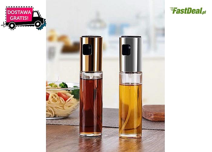 Spryskiwacz do oliwy lub octu! Wygodna buteleczka ułatwiająca dozowanie! 3 kolory do wyboru!