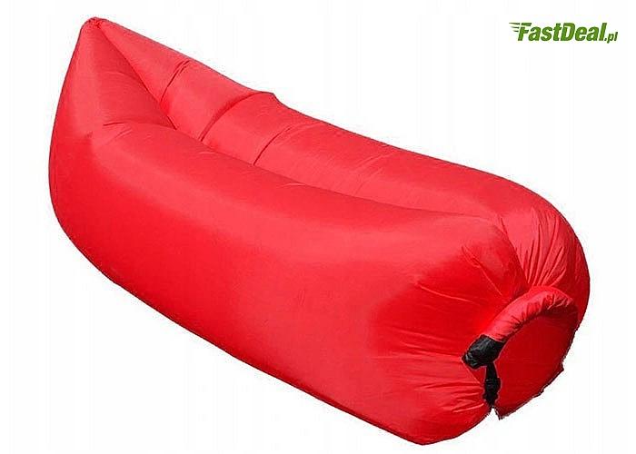 Sofa lazy bag jest doskonała na wszelkiego rodzaju wczasy lub na wypoczynek na świeżym powietrzu i w domu