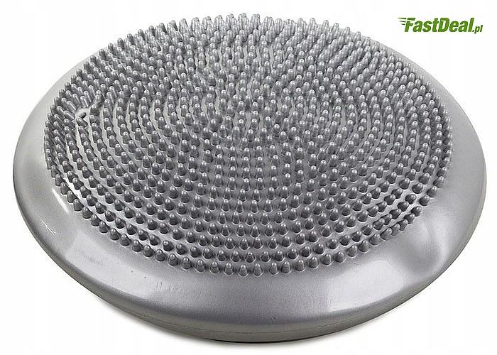 Poduszka sensomotoryczna z pompką- doskonały dysk rehabilitacyjny do ćwiczeń