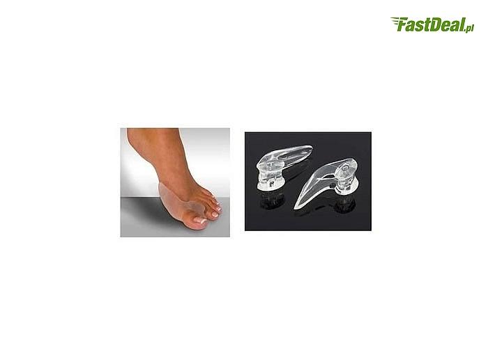 Silikonowe kliny z osłoną na haluksy to nieoceniony komfort noszenia obuwia w ciągu całego dnia