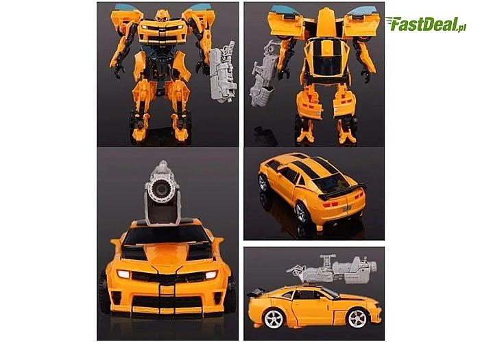 Transformers 2w1, zapewni dziecku świetną zabawę, rozwinie wyobraźnię oraz udoskonali  zdolności manualne