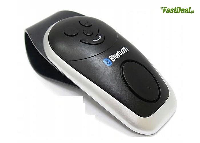 Samochodowy zestaw głośnomówiący Bluetooth z trybem multipoint pozwoli Ci bezpiecznie rozmawiać podczas kierowania autem