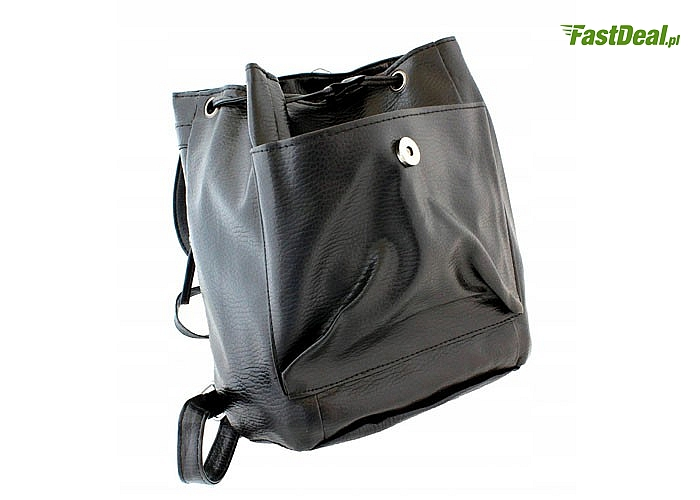 Elegancki, damski plecak, który doskonale sprawdzi się jako ładniejszy odpowiednik szkolnej teczki
