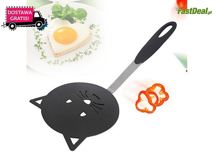 Łopatka kuchenna z motywem kota! Niezbędnik domowy w ciekawym wydaniu!