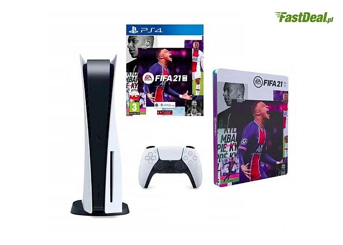 Konsola Sony PS5 oferuje graczom rozgrywkę na najwyższym poziomie