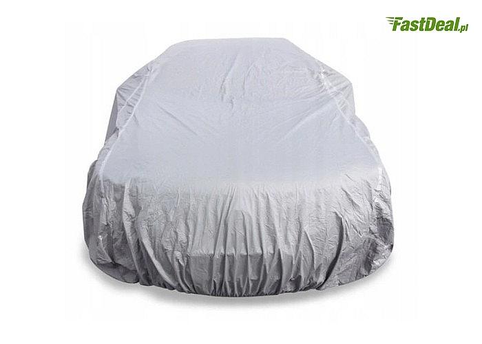 Pokrowiec na auto! Wodoodporny, całoroczna ochrona przed deszczem, śniegiem, mrozem, wilgocią i promieniowaniem UV!