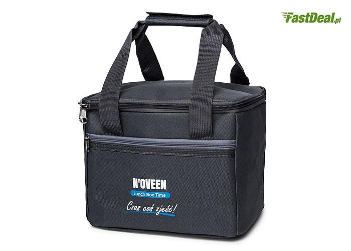 Torba termiczna na Lunch Box Noveen, zapewnia dodatkową izolację
