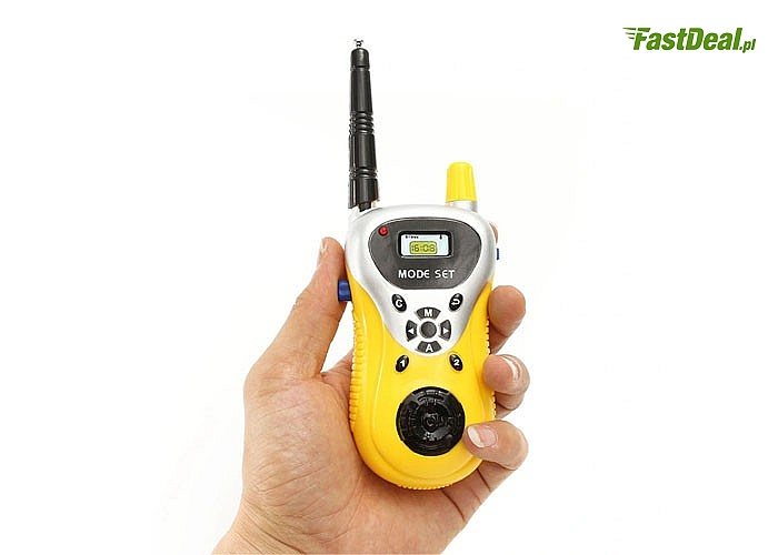 Zestaw walkie talkie super zabawa na świeżym powietrzu dla małych i dużych