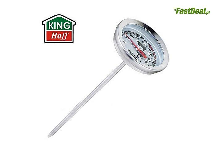 Termometr kucharski do mięsa pozwoli przygotować idealnie soczyste mięso