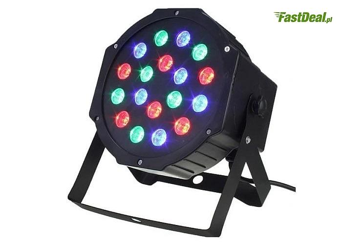 Kolorofon, lampa disco obowiązkowy gadżet każdej udanej imprezy