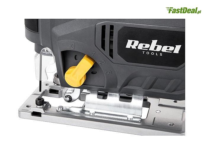 Wyrzynarka Rebel Tools o mocy 850 W prawdziwa gratka dla każdego majsterkowicza