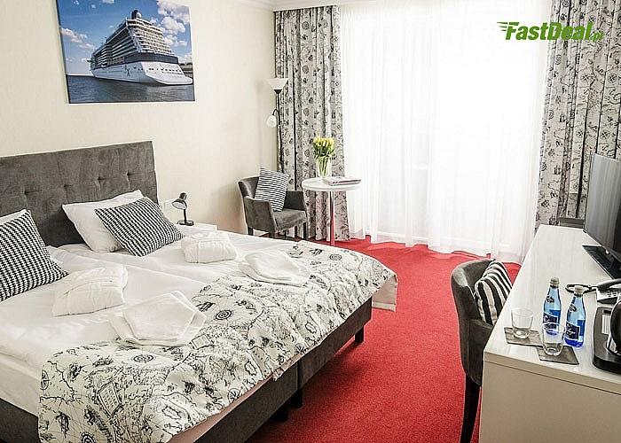 Prestiżowy nadmorski hotel Grand Kapitan, morze i piaszczysta plaża w urokliwym Ustroniu Morskim