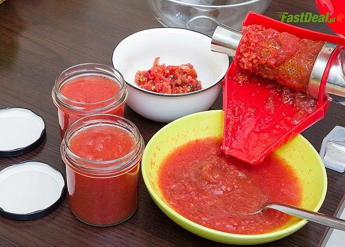 Wyciskarka do soków! Przygotuj idealne przeciery pomidorowe we własnym domu!