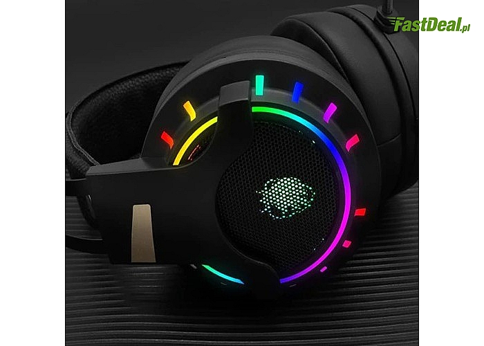 Wysokiej jakości zestaw słuchawkowy zaprojektowany z myślą o wymagających graczach