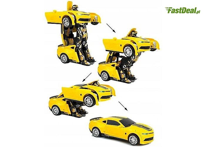 Auto-robot 2w1! Sterowane na pilota! Prawdziwa rewolucja w zabawkach!