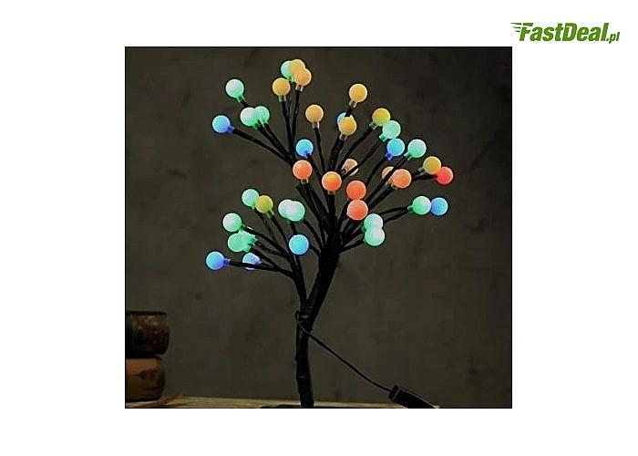 Lampka w kształcie drzewka bonsai! Sprawdzi się się nie tylko jako świąteczna ozdoba! Oświetli każde nowoczesne wnętrze
