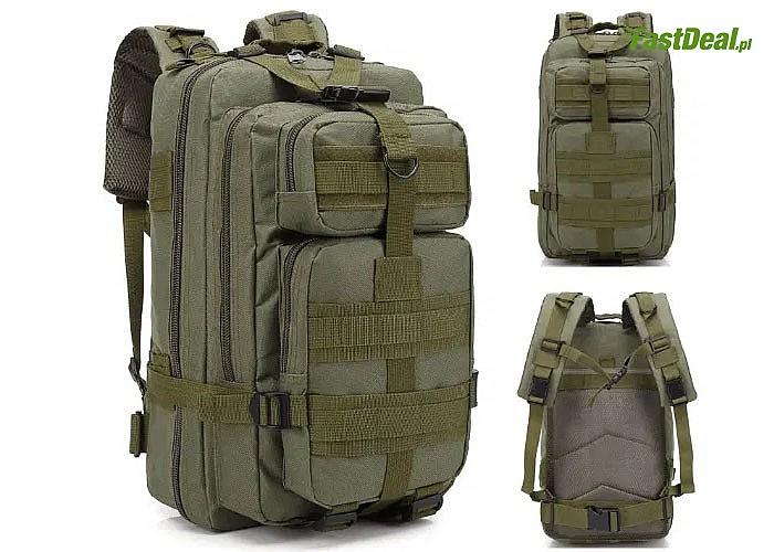 Plecak taktyczny to obowiązkowy ekwipunek każdego, kto preferuje długie i wymagające wędrówki survivalowe