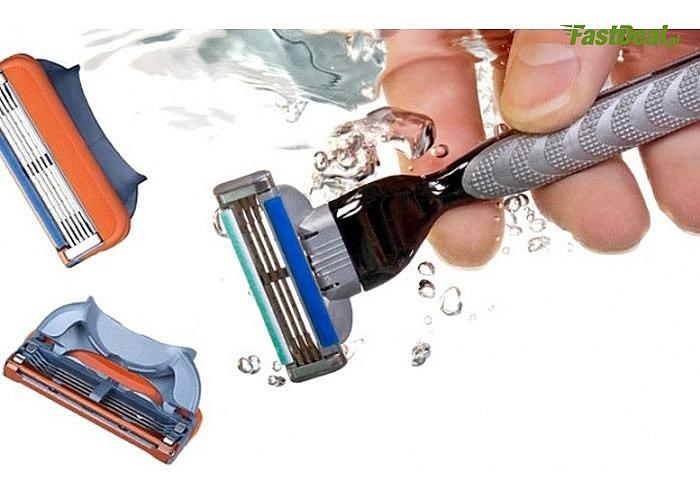 WKŁADY do maszynek Gillette Fusion i Mach 3 oraz rączki do golenia. Golenie nigdy nie było tak proste i przyjemne!