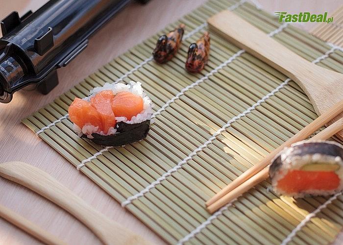 Zestaw do robienia sushi- zaskocz ukochaną osobę oraz bliskich