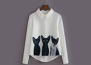 Koszula i koty