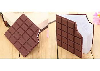 Notuj w tabliczce czekolady