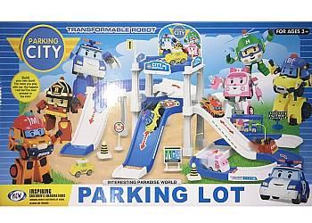 Zestaw Tor Samochodowy Parking City