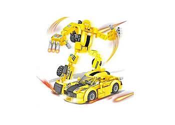 Klocki Transformers 2w1 robot