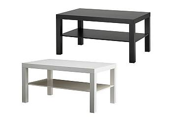 Stolik z oddzielną półką