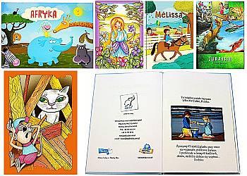Spersonalizowane książki dla dzieci