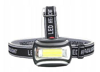 Latarka czołowa LED COB 3W